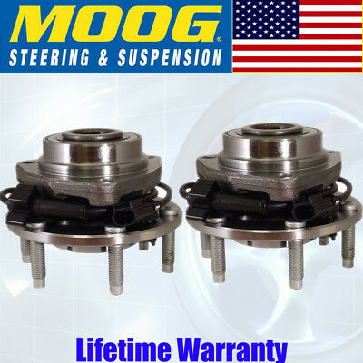 2 New MOOG Premium Front Wheel Hub Bearing Assembly Pair/Set For Left and Right