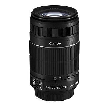 Canon EF-S 55-250mm f/4-5.6 IS II Objektiv 55-250 f4,0-5,6 für 80D 760D 800D 70D