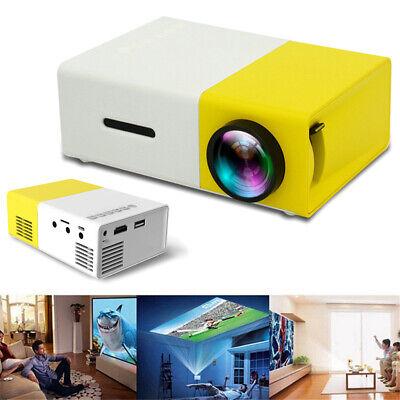 YG300 Mini Multimedia LED LCD Projector Full HD 1080P Home Theater USB  HDMI AV