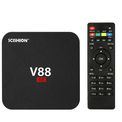 V88 Android 6 0 Smart Tv Box 4K Latest Rk3229 Quad Core 8Gb Hd 1080P Wifi Media