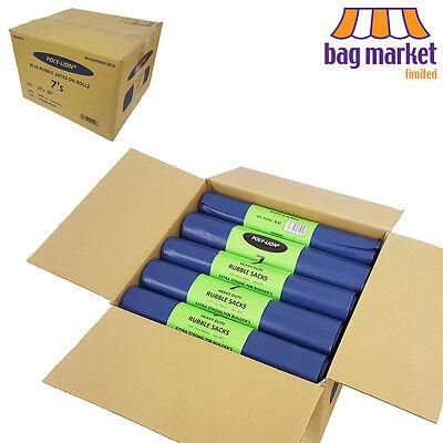 140 x Rubble Sacks | 20 Rolls | Strong Rubble Bags/Builder Sacks | 20