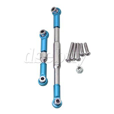 Alloy Steering Links - 2 Pieces Aluminum Alloy Steering Servo Links Sets for WPL B14 B24 RC1:16 Car