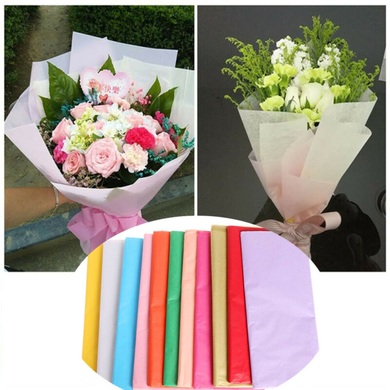 Gift Craft Wrapping Packing Tissue Paper Flower Making Origami Scrapbooking