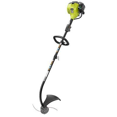 Gas String Trimmer Curved Shaft Grass Lawn Edger Weed Eater Wacker Line Strimmer