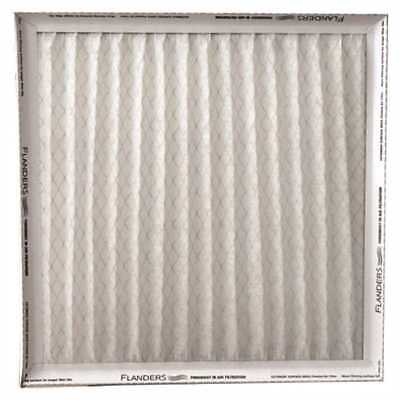 FLANDERS MERV 6 PINCH PLEATED AIR FILTER, 16X20X1