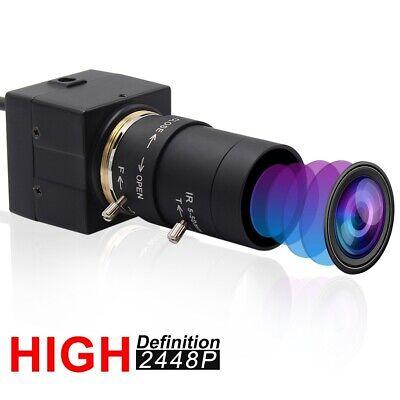 8MP USB Webcam CCTV 5-50mm Vario Objektiv Mini Kamera USB für PC Computer Laptop Cctv Usb