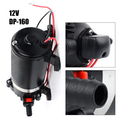 High Pressure Diaphragm Pump Self Priming Displacement Water Pump 24v Dc 126w