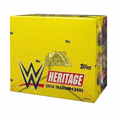 2016 Topps WWE Heritage Wrestling 24ct Retail Box