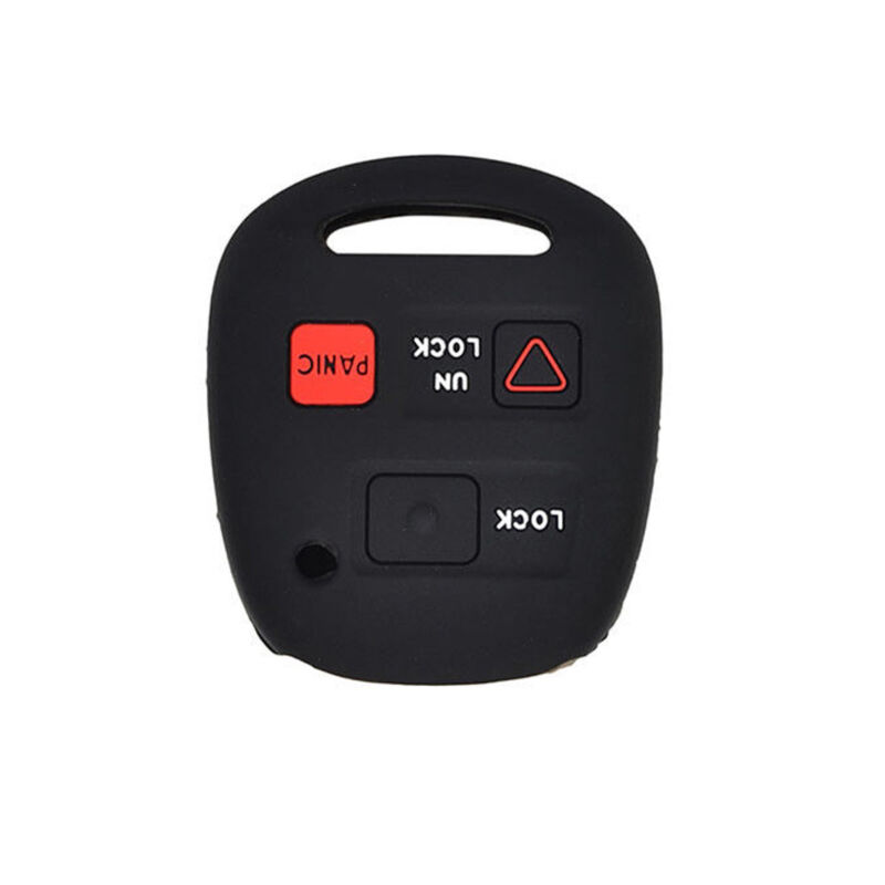 3 Buttons Silicone Remote Key Fob Cover Case Fit Lexus