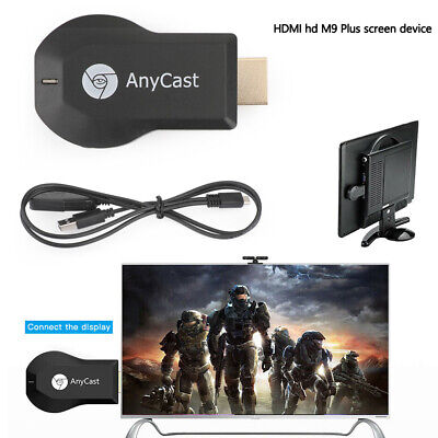 AnyCast M9 Plus HDMI Media Player Cast Stick WIFI Display Receiver Dongle A6