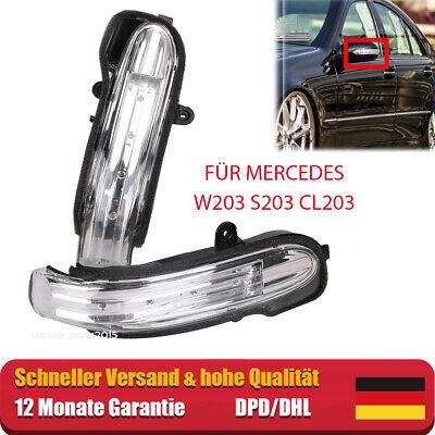 2xSpiegelblinker L+R Blinker Spiegel Für Mercedes W203 S203 BJ.2004-2007 DE