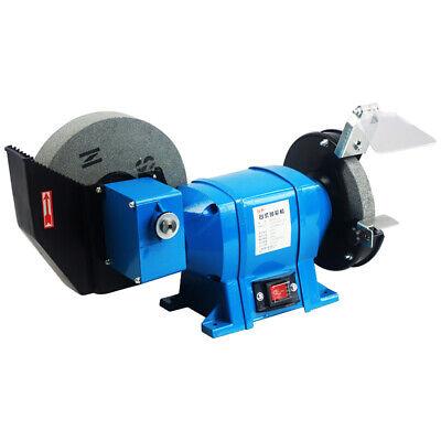 220v Electric Bench Grinder Tool Knife Sharpener Dry Wet Grinding Machine 250w Y