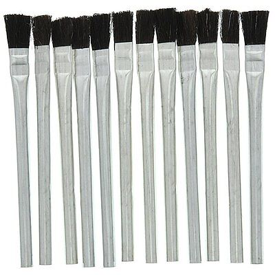 (12 pc. Disposable Acid Brush for Craft,Glue,Epoxy,Paint,Flux brush and more)