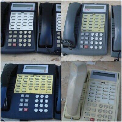Avaya Lucent 18d 34d Display Black Gray White Office Lcd Phones