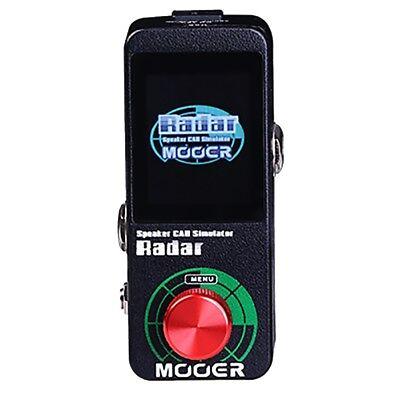 Mooer Radar Speaker Microphone Power Amp Cab Simulator Guitar Effects Pedal