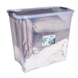 Wilko 90 litres Modular Storage Boxes and Lids