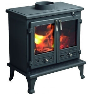Multi fuel Wood Burner Coal Quality Branded Stove FireFox 12 KW | eBay