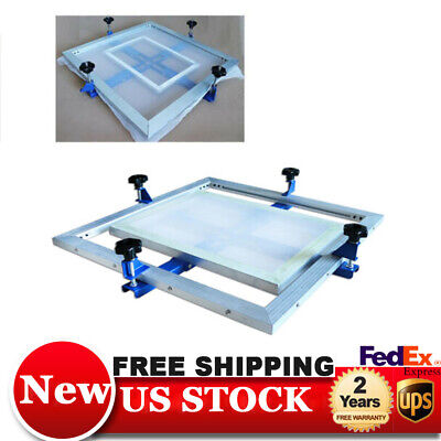 New Manual 24x24 Screen Frame Stretcher Screen Printing Tension Tool Design Usa