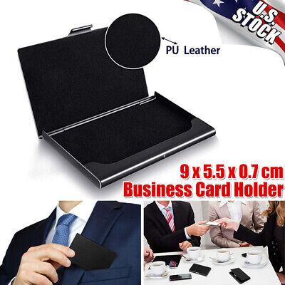 Pocket Stainless Steel Super Light Business Card Holder Case Id Credit Wallet