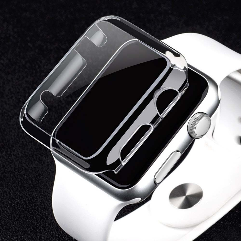 Apple Watch Series 3 Screen Protector iWatch 38mm Cover Bumper Case Protection Cases, Covers & Skins
