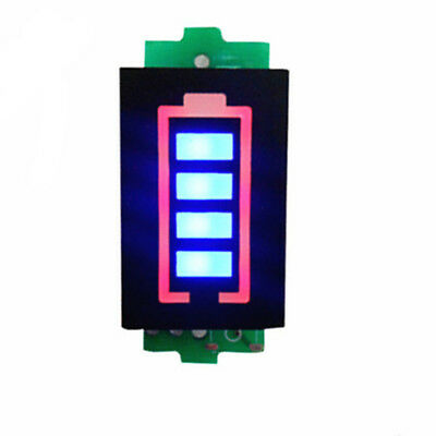 1234s Lithium Battery Capacity Indicator Led Display Power Tester Ass