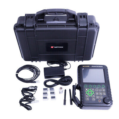 New Handheld Ultrasonic Flaw Detector Mfd350b Ndt With Extra Probes And Cables