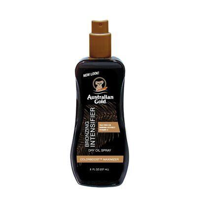 AustralianGold Spray Aceite Acelerador Bronceado 237ml,aloe vera,aceite arbol té
