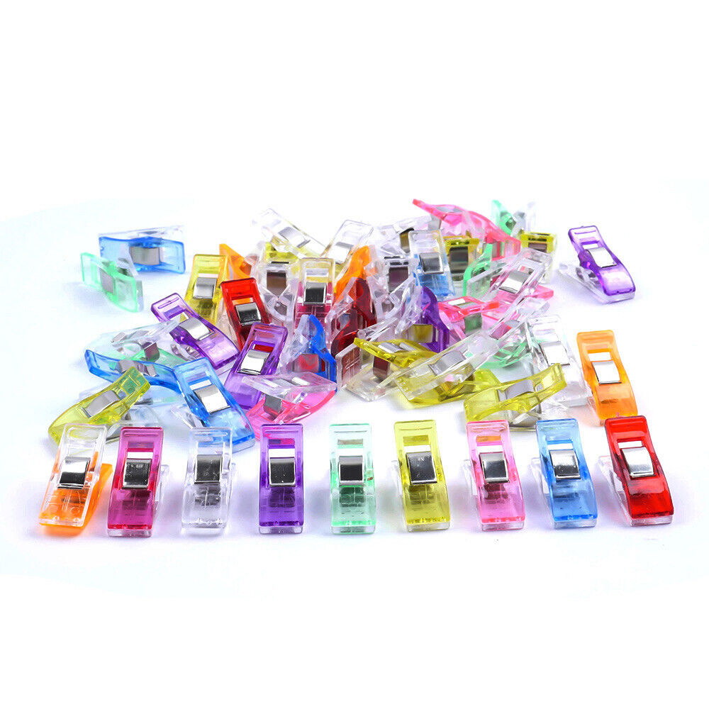 Colorful Sewing Clamps for Quilting Crafting Knitting Multipurpose Sewing Accessories Sewing Clips Wonder Clips 20PCS Sewing Clips