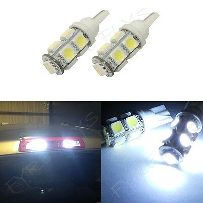 2 White LED Cargo Bed Lights for trucks 3rd third brake light 921 912 bulbs #R2