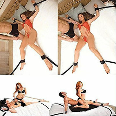 Adult Toys For Couples Sex Role Play King Bed Full Whip Restrain Cuffs Set Adult (Couples Costums)