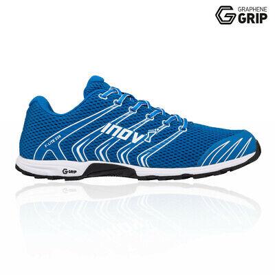 Inov8 Mens F-Lite 230 Training Gym Fitness Shoes Blue Sports Breathable