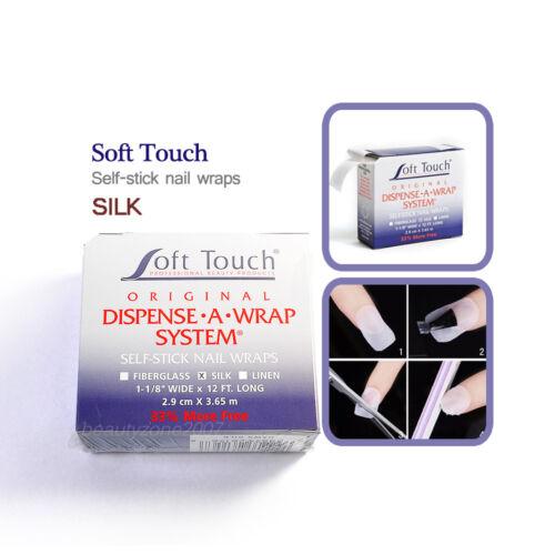 Soft touch Dispense A Wrap System Self Stick Nail Wraps - SILK
