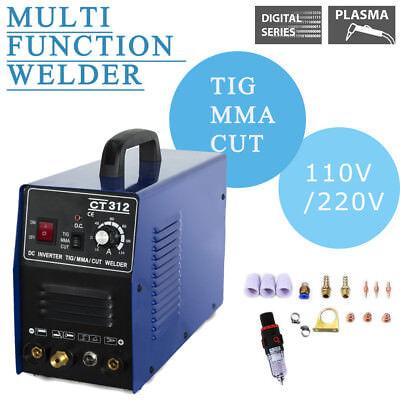 Ct312 110v220v Tigmma Welder Plasma Cutter 3in1 Welding Machine Accessories