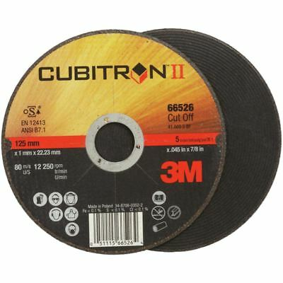 50x 3M Cubitron II Disco de Corte 115 x 1,0 X 22,2MM...
