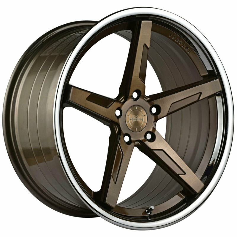 "20"" Vertini Rfs1.7 Bronze 20x9 Concave Forged Wheels Rims Fits Audi Q5"