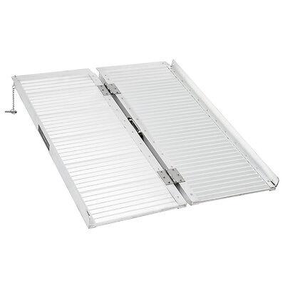 3 Ft. Aluminum Single Fold Wheelchair Ramp 600 Lb Capacity