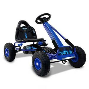 Awesome Kids Pedal Go Kart - Blue - pnuematic tyres - delivered Perth Perth City Area Preview