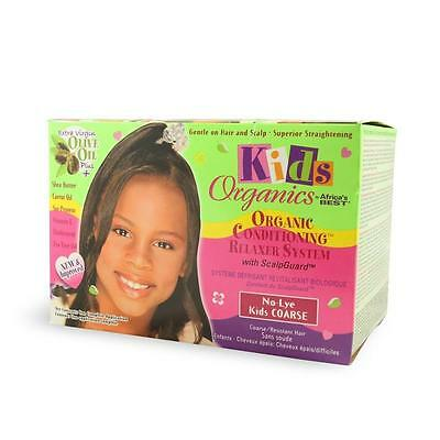 Africa's Best Organics Kids No Lye Conditioning Relaxer System for Course