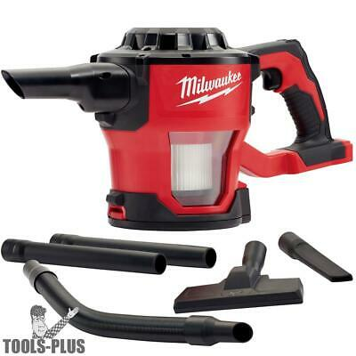 Milwaukee 0882-20 M18 Compact Vacuum Tool Only With Hepa Filter New