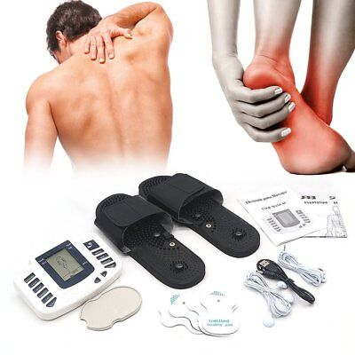 Electronic Nerve Stimulator Pain Relief Massager TENS Machine New