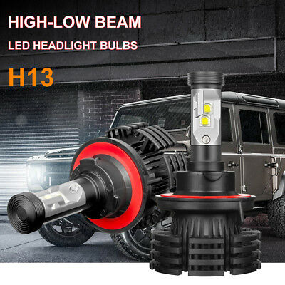 H13 9008 CREE LED Headlight Conversion Kit 1400W 210000LM HI/LOW Beam Bulb 6000K