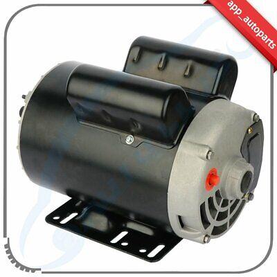 5 Hp Spl 3.5hp Air Compressor Duty Electric Motor 56 Frame 3450 Rpm 1 Phase