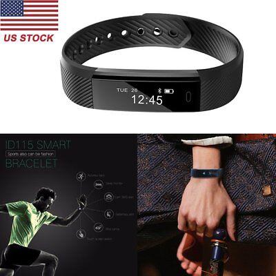 Fitness Tracker Smart Bracelet Step Counter Running Monitor Wristband Watch New