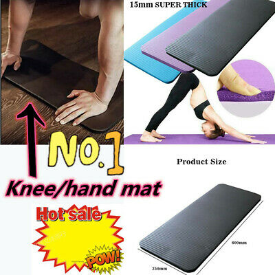 UK Non Slip Knee Mat Carpet Pilates Home Gym Fitness Sports Exercise Pads Gifts