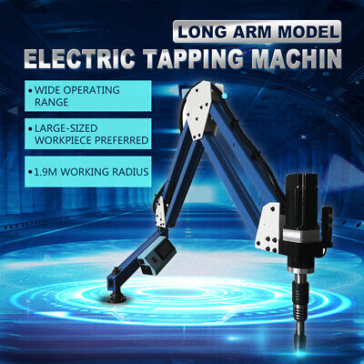 1900mm Long Arm Electric Tapping Machinem6-m24touch Screen360 Angle Tapper
