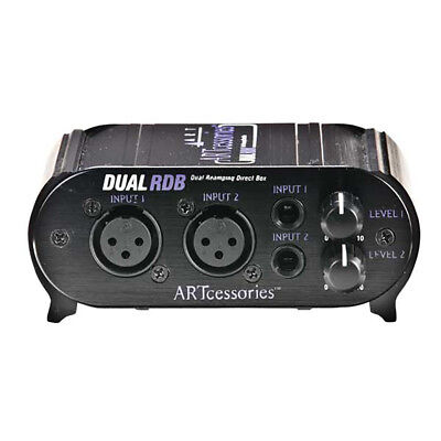 ART Pro Audio Dual RDB 2-Channel Stereo Amp Re-Amping Interface Direct Box