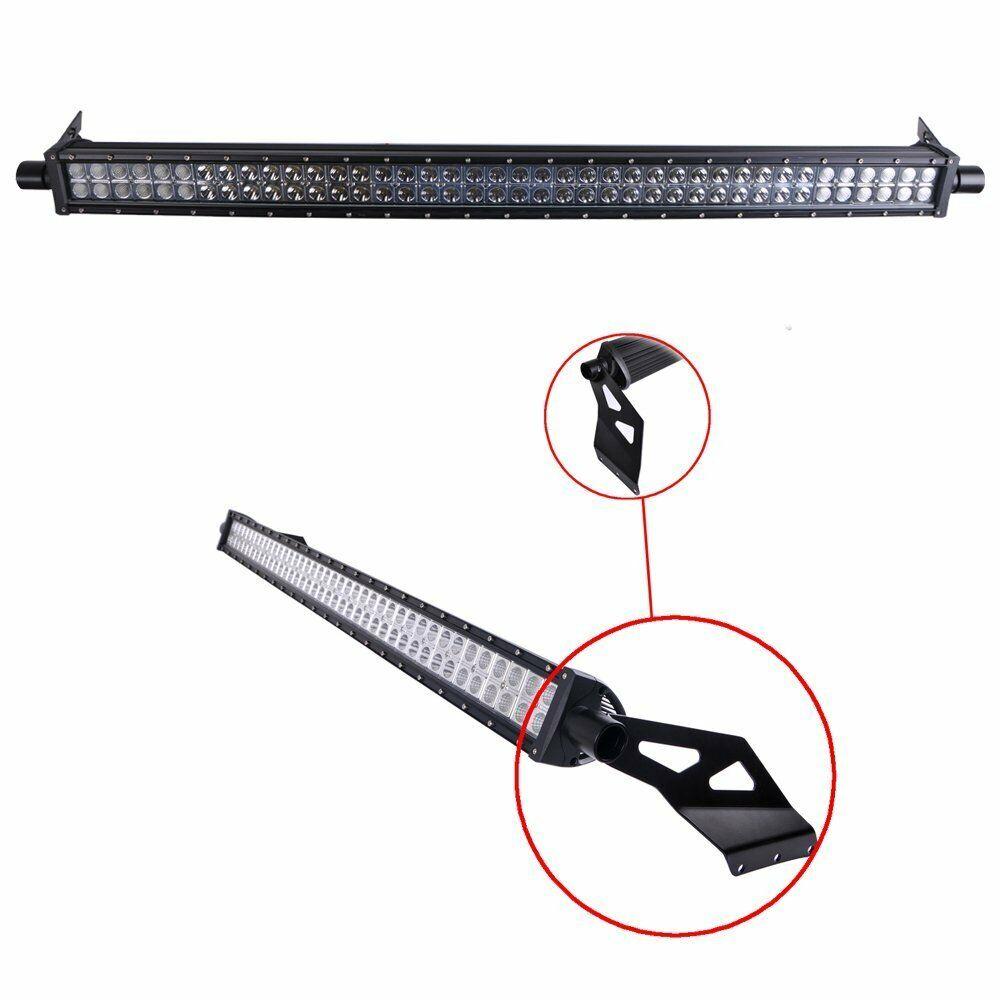 2x windshield roof led work light bar mount bracket for dodge ram 1500 2500 3500