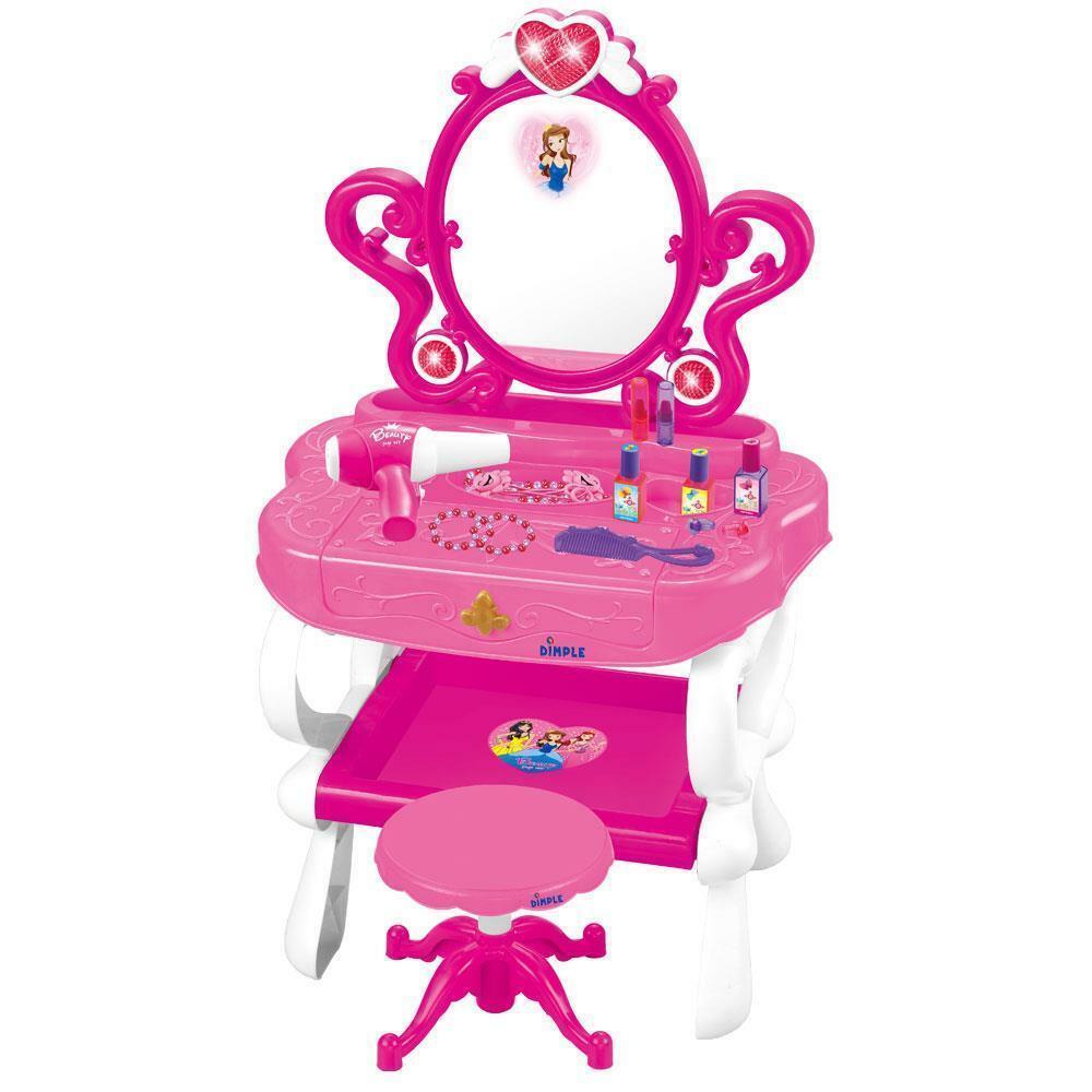 Dimple Princess Piano Makeup & Vanity Set