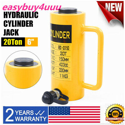 Hydraulic Cylinder Jack 20 Tons-single Acting-telescopic Plunger-150mm Stroke