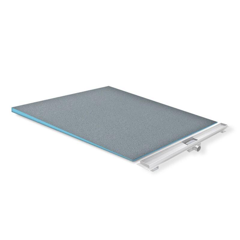 Duschelement Duschboard Gefälleplatte befliesbar XPS für alle Duschrinnentypen 120x120 cm